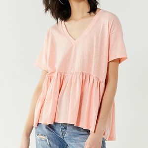 🌻 Truly Madly Deeply V-Neck Babydoll Tee